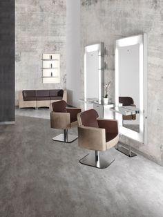 Dea Line - Salon Ambience - Hairdressing Furniture - Made In Italy - Produzione e vendita arredamenti per parrucchieri e saloni - Arredamento Barbiere - Salon Equipment - Arredamenti Per Parrucchieri