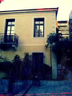 neoclassical buildings in patras with 1960 Cam Effect