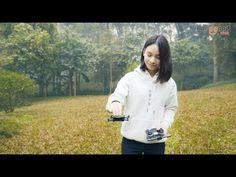 Eachine E55 Mini WiFi FPV Foldable Pocket Drone - YouTube