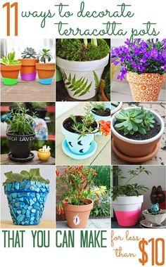 900 Craft Pots Ideas Flower Pots Clay Pot Crafts Crafts