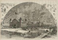 """The New Iron Pier at West Brighton Beach, Coney Island"" from Sheepshead Bites"