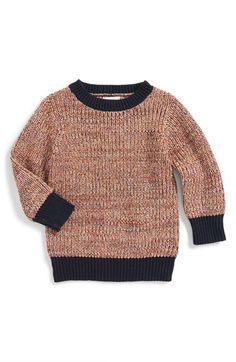 Peek 'Brewster' Crewneck Sweater (Baby Boys) available at #Nordstrom