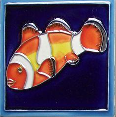 Tropical Fish #1 Tile Wall Decor