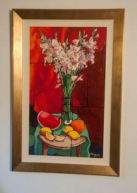 Por amor al arte: Angus Wilson Painting Flowers Tutorial, Flower Tutorial, Original Artwork, Original Paintings, Wilson Art, Color Plan, Still Life Drawing, Watercolor Effects, Delphinium
