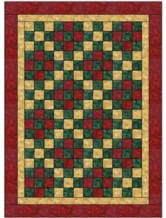 Nine Patch 3 YD QUILT VZOR Try blue outsides with orange inners, alt Block orange outers with turquoise inners. Lap Quilts, Scrappy Quilts, Small Quilts, Quilting Projects, Quilting Designs, Irish Chain Quilt, Nine Patch Quilt, Easy Quilt Patterns, Crochet Quilt