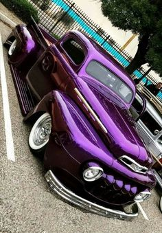 1951 Ford Pickup - pick up - Auto Custom Pickup Trucks, Classic Pickup Trucks, Old Pickup Trucks, Hot Rod Trucks, Cool Trucks, Jeep Pickup, Semi Trucks, Big Trucks, Mercedes S320