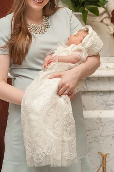 Vivienne's Custom Christening or Baptism Gown by BertasBoutique
