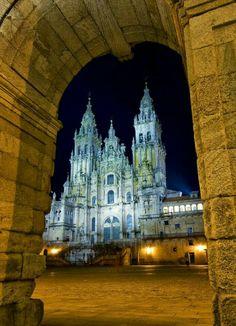 Catedral de Santiago de Compostela. España.