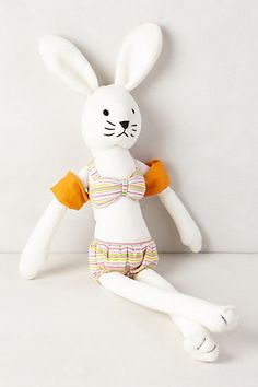 Beach Bunny from Anthropologie.... K def needs one of these in her Easter basket!