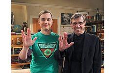 Sheldon Cooper & Leonard Nimoy!!!