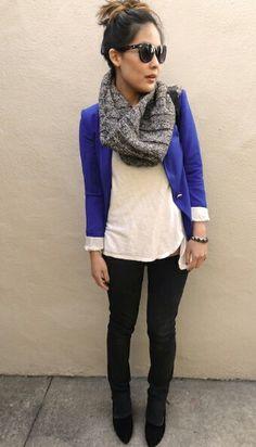 Cute blazer style!!!