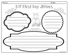 Read First Day Jitter on Tumble Books and complete activity First Day Jitters.pdf - Google Drive