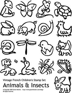 Vintage Animal Set by Green Kitchen, via Flickr