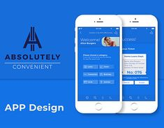 Third Year Graphic Design Project:Absolutely Convenient is a modern app for all your daily banking queries. Book your place in a digital queue, speak to the correct consultants regarding your issues, receive alerts on branches and ATMs, and easily locat… Graphic Design Projects, Working On Myself, App Design, New Work, Behance, Digital, Gallery, Check, Roof Rack
