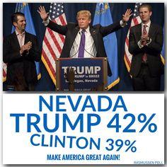 Thank you Nevada! #AmericaFirst #MakeAmericaGreatAgain Donald J. Trump (@realDonaldTrump) | Twitter