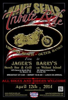 Jagermeister Jäger Welcome Bikers Poster with Motorcycle