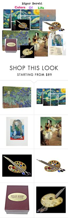 Edgar Berebi Colors of Life by sally-maybin-brown on Polyvore featuring Pier 1 Imports and Trademark Fine Art