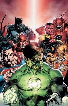 Green Lantern #62 cover by one of my favorite artists - Doug Mahnke