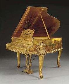 """Antique luxury Pianos   Anne-Françoise : """"To set my clock for 9 a.m. instead of 6 a.m."""""""