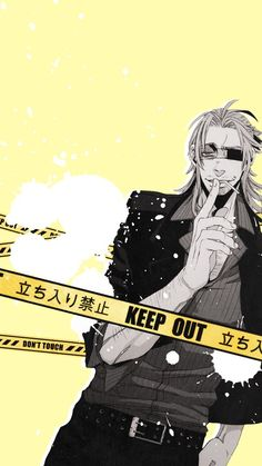 Twisted Poison Kirixhima Gangsta Mobile Wallpapers Gangsta Pinterest
