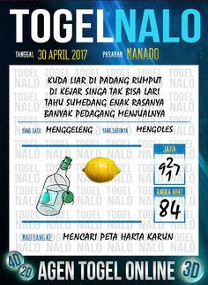 Kode Paito 2D Togel Wap Online TogelNalo Manado 30 April 2017