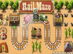 Rail Maze 2  Android Game - playslack.com , make a line from the parts of distinct shapes, control the trains with lights. govern the train to the complete. In this Android game you have to use your reasoning abilities to coat the fail-safe path for the train. At distinct levels you'll have distinct kinds of work. assist the train flee from apparitions, pass the lava tract, evade lightning, etc. Turn on the chromatic light to stop the train before the obstruction. control rails to ride the…