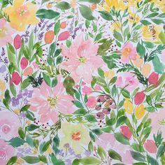 Flower power!  Full painting in my instastory ☺️ . . #paintstobrushes #inspiredbypaintstobrushes