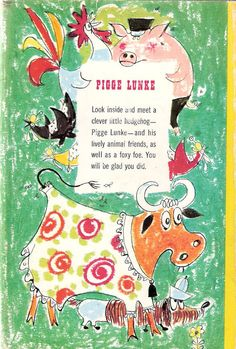 Vintage Pigge Lunke by Gösta Knutsson 1961 by enchantedbookroom