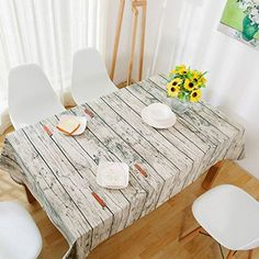 Stripe Linen Retro Table Cloth Europe Style Creative Fresh Tea Table Cloth Plain Dyed For Wedding Home Table Decoration as picture 140x250cm