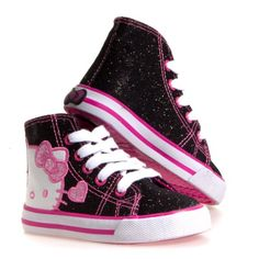 HELLO KITTY HI TOP Girls Shoes - Sale: 	$24.99