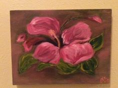 I love hibiscus...  So did my Virgo mom