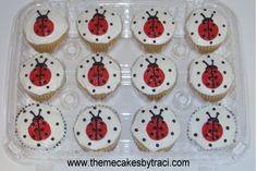 lady bug cakes and cupcakes | Cake Gallery :: Cupcakes/Cupcake Cakes :: CIMG0962