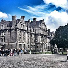 Trinity College Dublin  #trinitycollege #Dublin #Ireland #Eire #Irish #travel #instatravel