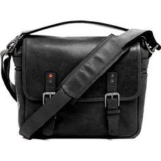ONA Berlin II Camera Messenger Bag   Black