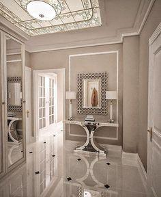 Tiled Hallway, Hallway Flooring, Bathroom Interior Design, Interior Design Living Room, Living Room Designs, Modern Tv Wall, Luxury Flooring, Hallway Designs, House With Porch