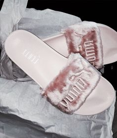 5d94e925411 Puma fenty sandals Brand new. Comes with dustbag no box. They are a size 9  but fit like a size That is why in the description I put size 10 but are ...