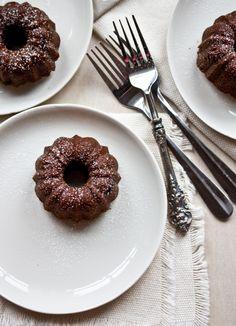 blood orange + olive oil bundtlette cakes // gf + vegan — whats cooking good looking