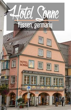 Map of major cities in germany germany pinterest for Fussen design hotel