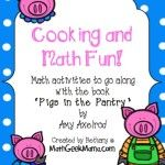 Pigs in the Pantry Math Activity - and lots of other great math activities for kids!
