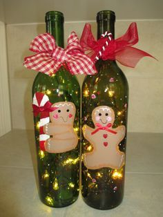 Looking for easy peasy Dollar Store Christmas Decor Ideas? Here is a wonderful collection of Dollar Store Christmas Decorating Ideas to help you out. Christmas Wine Bottles, Dollar Store Christmas, Christmas Crafts, Christmas Decorations, Xmas, Cheap Christmas, Snowman Crafts, Recycled Wine Bottles, Painted Wine Bottles