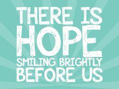 hope smiling...