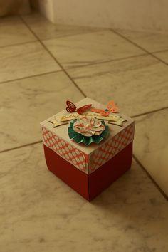 #scrapbook, #album in the box, #explosionbox, mother, #birthdaygift, Scrapfellow, #scrapfellowkitklubjanuar, #scrapfellowradar, #szinspiraciojanuar