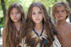 boho babies. my children would resemble this, i'm sure.