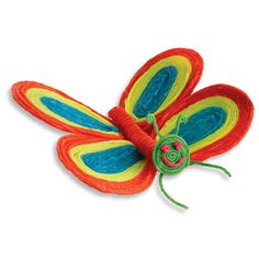 A Beautiful Butterfly Craft! http://www.wikkistix.com/crafts_animals_objects.php #craftsforkids #butterfly #crafts