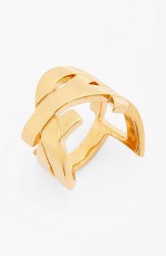 acc2d979f Saint Laurent 'YSL' Monogram Ring available at #Nordstrom Ysl, Saint Laurent ,