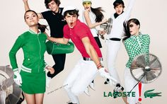 Lacoste - Terry Richardson - 2009SS - ad campaign jumps -  fashion ads