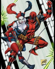 Deadpool And Harley Quinn Follow us on Instagram and Twitter the best HD images from the world of comics and anime from here you can find all HD images of comics and anime visit us for our Instagram and twitter. #marvel #marvelcomics #marvelstudios #marveluniverse #marvelentertainment #marvelcomic #waltdisney #marvellegends #disney #vs #dccomics #dcnation #dcuniverse #dccomicsuniverse #dcfilms #dcentertainment #dccomic #dc #warnerbros #manga #anime #bandai #toeianimation #madhouse #followme…