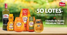 ¡Gana un LOTE de productos Luna de miel & La Masía!