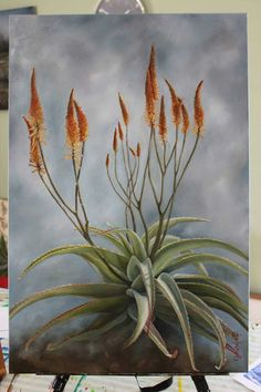 List Of Paintings, Oil Paintings, Acrylic Painting For Beginners, Impressionist Paintings, Cacti And Succulents, Botanical Art, Beautiful Paintings, Watercolour Painting, Diy Art
