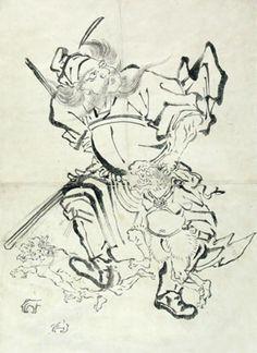 Katasushika Hokusai: Hij heeft modelboeken gemaakt dat andere kunstenaars konden raadplegen. In de boeken stonden allerlei illustraties, studies en schetsen dat als voorbeeld, hulp of referentie konden gebruikt worden.